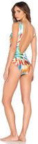 Lenny Niemeyer Deep V Swimsuit