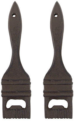 Toscano Design Paint The Town Red Paint Brush Bottle Opener, Set of 2