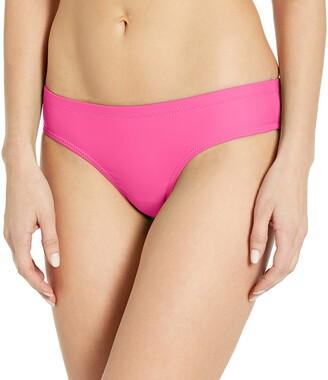Volcom Women's Simply Solid Cheeky Swimsuit Bikini Bottom