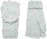 Accessorize Bobble Stitched Capped Gloves