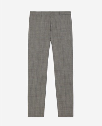 The Kooples Prince of Wales grey suit trousers