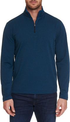 Robert Graham Men's Gareth Soft Performance Quarter-Zip Sweater