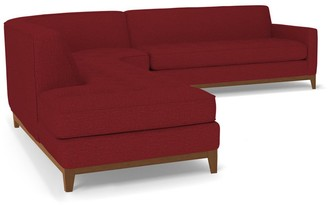 Apt2B Melrose 3pc Sectional Sofa LAF in BERRY
