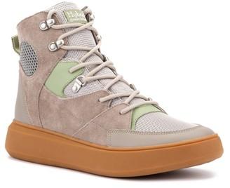 Hybrid Green Label Globetrotter High-Top Sneaker