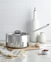 All-Clad Stainless Steel 3.5 Qt. Covered Saucepan