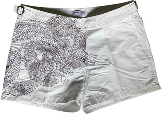 Orlebar Brown White Shorts for Women