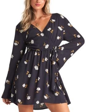 Billabong Juniors' Side Out Floral-Print Mini Dress