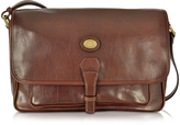 The Bridge Dark Brown Leather Large Shoulder Bag