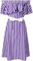 Maison Rabih Kayrouz off-the-shoulder striped dress