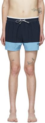 HUGO BOSS Blue Filefish Swim Shorts