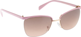 UNIONBAY Women's U535 Cat Eye Sunglasses