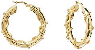 GABIRIELLE JEWELRY Gold Over Silver Earrings