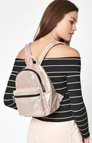 La Hearts Metallic Mini Backpack