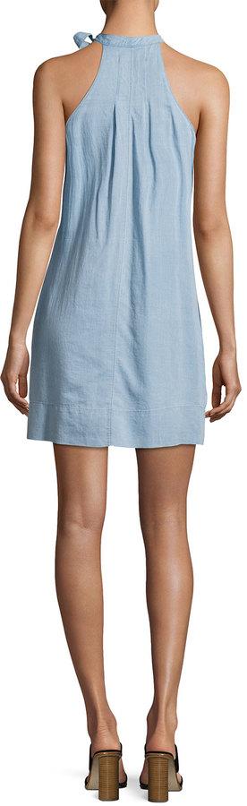 J Brand Esme Sleeveless Denim Dress, Graceful