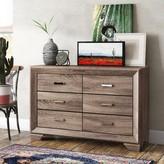 Barnsdall 6 Drawer Double Dresser Trent Austin Design