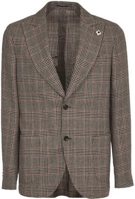 Lardini Checked Jacket