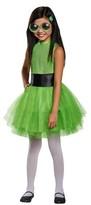 Disguise Powerpuff Girls' Buttercup Tutu Deluxe Child Costume