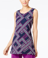 Alfani Printed Tunic, Only at Macy's