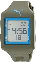 Puma Unisex PU910791015 Slide Digital Display Analog Quartz Green Watch