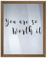 "PTM Images You're So Worth It Wall Decor - 16.75"" x 20.75\"""