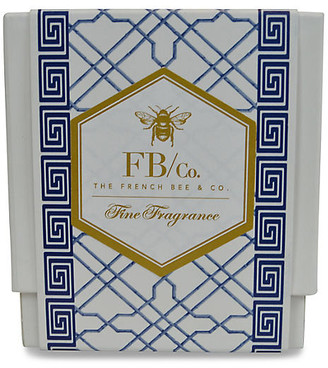 Navy Fretwork Candle - Lavender - The French Bee