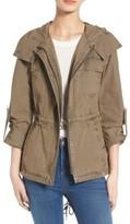 Levi's Women's Parachute Cotton Hooded Utility Jacket
