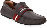 Bally Men's Pietro Trainspotting Leather Penny Drivers