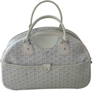 Goyard Jeanne White Cloth Handbags