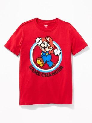 "Old Navy Super Mario ""Game Changer"" Tee for Boys"