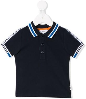 Boss Kidswear Tape Stripe Polo Shirt