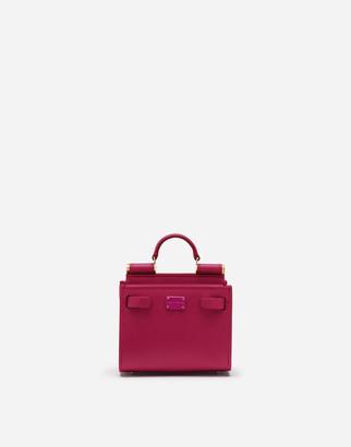 Dolce & Gabbana Calfskin Sicily 62 Micro Tote Bag