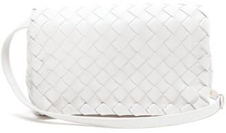 Bottega Veneta Intrecciato Leather Cross-body Bag - White