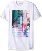 Kenneth Cole Reaction Men's Double City Crewneck Tee