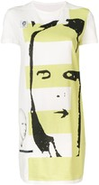 Rick Owens graphic print tunic