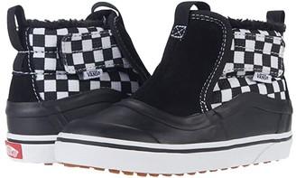 Vans Kids Slip-On Hi Terrain V MTE (Infant/Toddler) ((Check 1/4) Black/True White) Kid's Shoes