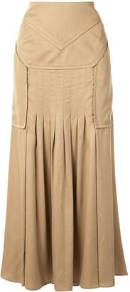 CHRISTOPHER ESBER Varsha tucked skirt