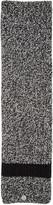 Moncler Black Knit Stripe Scarf