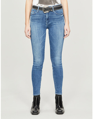 Mother The Looker high-rise stretch-denim jeans