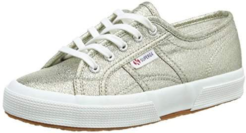 Superga Unisex Kids' 2750 Lamej Low-Top Sneakers,11 Child UK EU