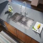"""MR Direct Stainless Steel 32"""" x 19"""" Undermount Kitchen Sink MR Direct"""