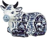 Pols Potten Cow Porcelain Cookie Jar