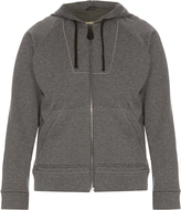 Bottega Veneta Cotton and wool-blend hooded sweatshirt