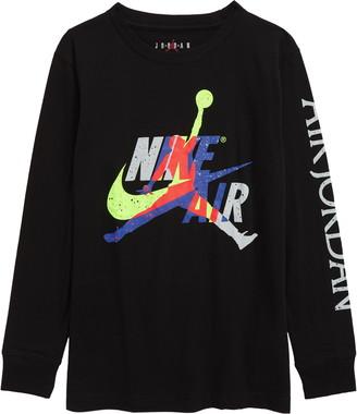 Jordan Jumpman Logo Long Sleeve Graphic Tee
