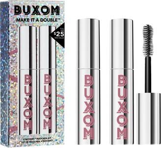 Buxom Make It A Double Full Size Xtrovert Mascara Duo