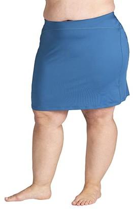 SkirtSports Skirt Sports Plus Size Happy Girl Skirt (Deep Blue) Women's Skirt