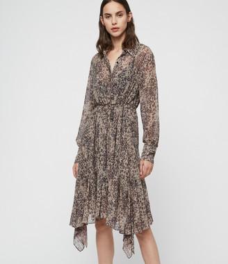 AllSaints Lizzy Patch Dress