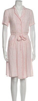 Thumbnail for your product : HVN Silk Midi Length Dress w/ Tags