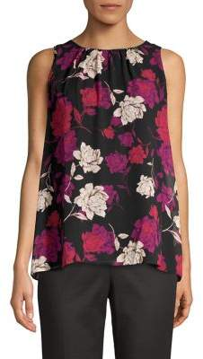 Vince Camuto Moody Floral Sleeveless Top