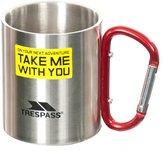 Trespass Bruski Carabiner Clip Travel Cup/Mug