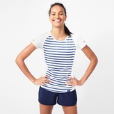 J.Crew New Balance® for striped cooling T-shirt